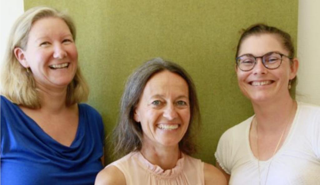 Dorthe, Ulla og Andrea